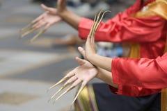 przedstawienie tańca thai Obraz Royalty Free