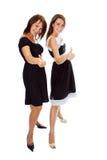 - przedstawienie znaku dwie kobiety young obraz royalty free