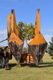 Przeflancowywający drzewa z przenośnym urządzeniem wspinał się maszynę Zdjęcia Royalty Free
