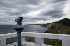 Przegapiać Cantabrian morze Obraz Royalty Free