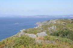 Przegapia galicjanina wybrzeże Obrazy Royalty Free