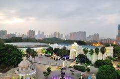 Przegapia Shenzhen Windows Światowa noc Fotografia Stock