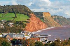 Przegapiać Sidmouth Devon Anglia Fotografia Royalty Free