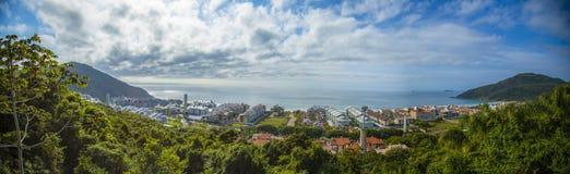 Przegląd Brava plaży punktu widzenia Florianà ³ polisa obrazy royalty free