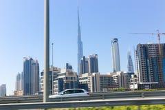 Przegląd Dubaj fotografia stock