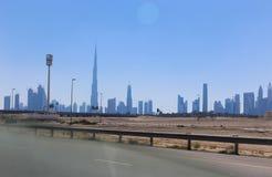 Przegląd Dubaj obrazy royalty free