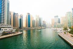 Przegląd Dubaj zdjęcia royalty free