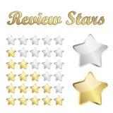 Przegląd gwiazdy Fotografia Stock
