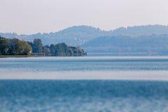 Przegląd jezioro zdjęcia royalty free