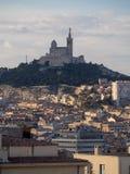 Przegląd Marseille, Francja zdjęcie royalty free