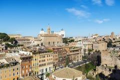 Przegląd Rzym, Włochy zdjęcie royalty free