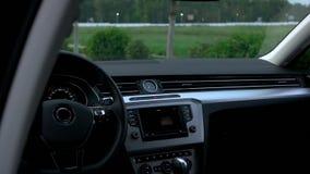 Przegląd samochodowy wnętrze zbiory