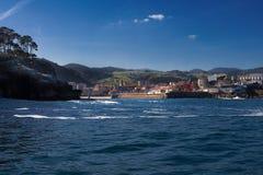 Przegląd wioska rybacka Lekeitio w Bizkaia 3 zdjęcie stock