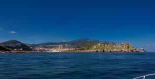 Przegląd wioska rybacka Lekeitio w Bizkaia 2 zdjęcie royalty free