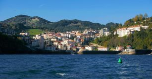 Przegląd wioska rybacka Lekeitio w Bizkaia 3 zdjęcie royalty free