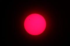 Przeglądać planetę mąci Zdjęcia Royalty Free