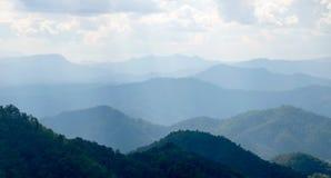 Przegląda górę w Samoeng, Chiang mai Thailand obrazy royalty free