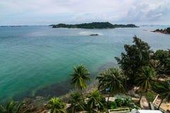 Przegląda od Raffles latarni morskiej Fotografia Royalty Free