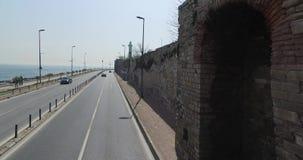 Przegląda ulicy Istanbuł zbiory wideo