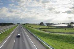 Przegląd A4 autostrada fotografia stock