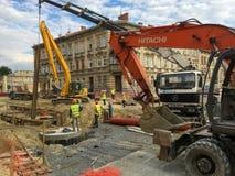 Przegląd droga w Lviv Zdjęcia Stock