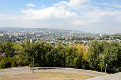 Przegląd fotografia miasto Obrazy Stock