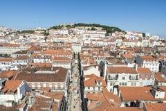 Przegląd Lisbon, Portugalia Zdjęcia Stock