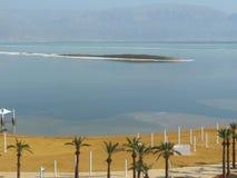 Przegląda panoramicznego od hotelu w Ein Bokek Obraz Royalty Free