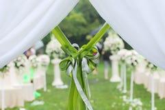 przeglądu przyjęcia ślub Fotografia Royalty Free