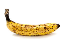 Przegniły banan fotografia stock