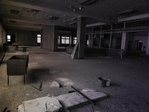 Przegrani miejsca opuszczony budynek fotografia royalty free