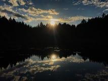 Przegrany jezioro zdjęcia stock