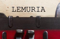Przegrany kontynent Lemuria fotografia royalty free