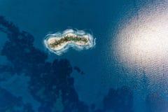 Przegrany wyspy podróży pojęcie zdjęcia stock