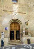 Przegrzebek pielgrzymi w Pamplona Hiszpania Obrazy Royalty Free