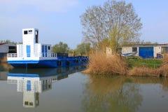 Przejście łódź Obraz Royalty Free