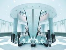 przejście eskalatoru przejście Zdjęcia Royalty Free