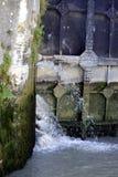 Przejście kędziorek Fonserannes na kanale du Midi Obrazy Stock