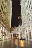 Przejście Między dwa budynkami Obrazy Royalty Free