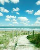 przejście na plażę zdjęcie royalty free