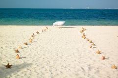 przejście na plaży Obrazy Stock