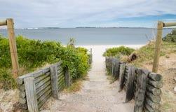 Przejście plaża przy Brighton Le Piasek, Sydney, Australia zdjęcia royalty free