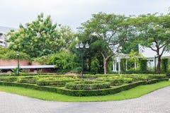 Przejście widok, ogród botaniczny Zdjęcia Stock