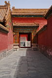 Przejście, Zakazujący miasto, Pekin, Chiny Obrazy Royalty Free