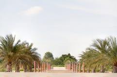 Przejście na moscie w parku Fotografia Royalty Free