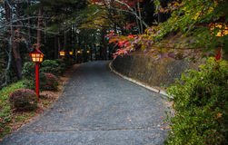 Przejście pagoda w Japonia Obrazy Stock