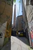 Przejście podwórze w Belgrade Obrazy Royalty Free