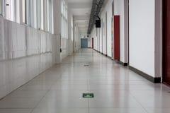 Przejście w szpitalu lub hotelu, Obraz Stock