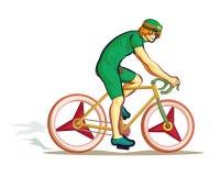 Przejażdżka bicykl Obrazy Royalty Free