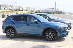 Przejażdżka drugie pokolenie restyled Mazda CX-5 skrzyżowanie SUV Zdjęcia Stock